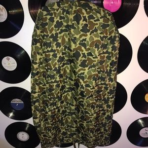 Camo Suit/ Clothes Garment bag *used condition*